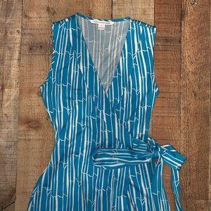Diane Von Furstenberg Dresses - Diane Von Furstenberg | Yahzi Short Wrap Dress